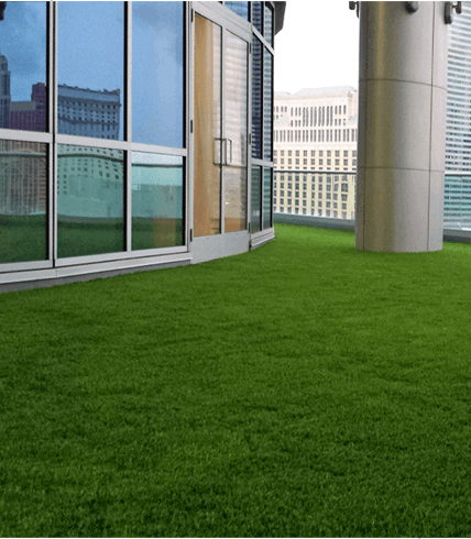 Turf Laying Roof Top