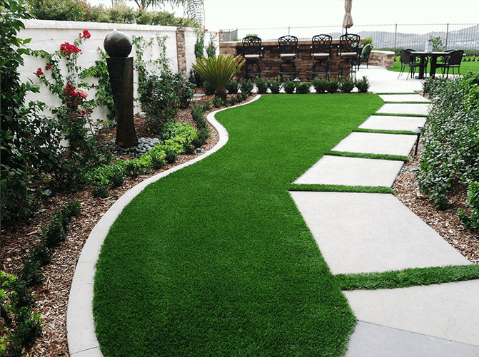 Outdoor Turf  Laying